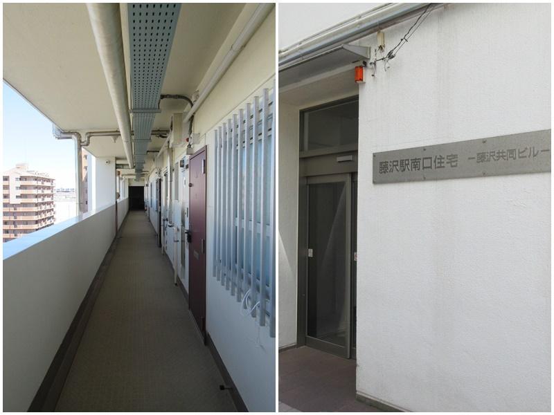 共用廊下 マンションの入口