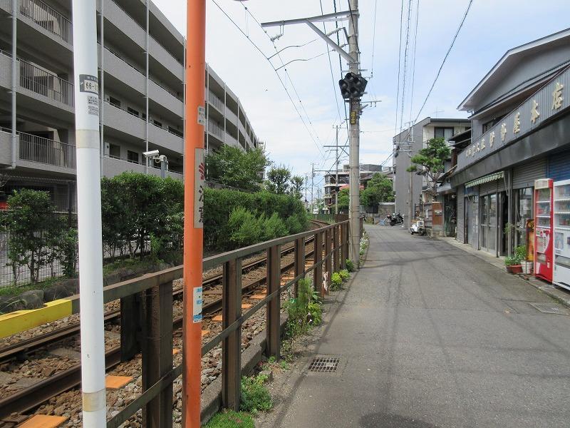 周辺 江ノ電沿いを歩いて帰ってくることもできる