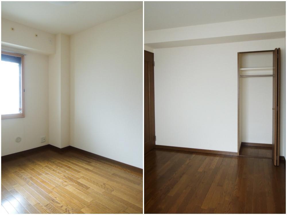 北側個室 各室に収納あり