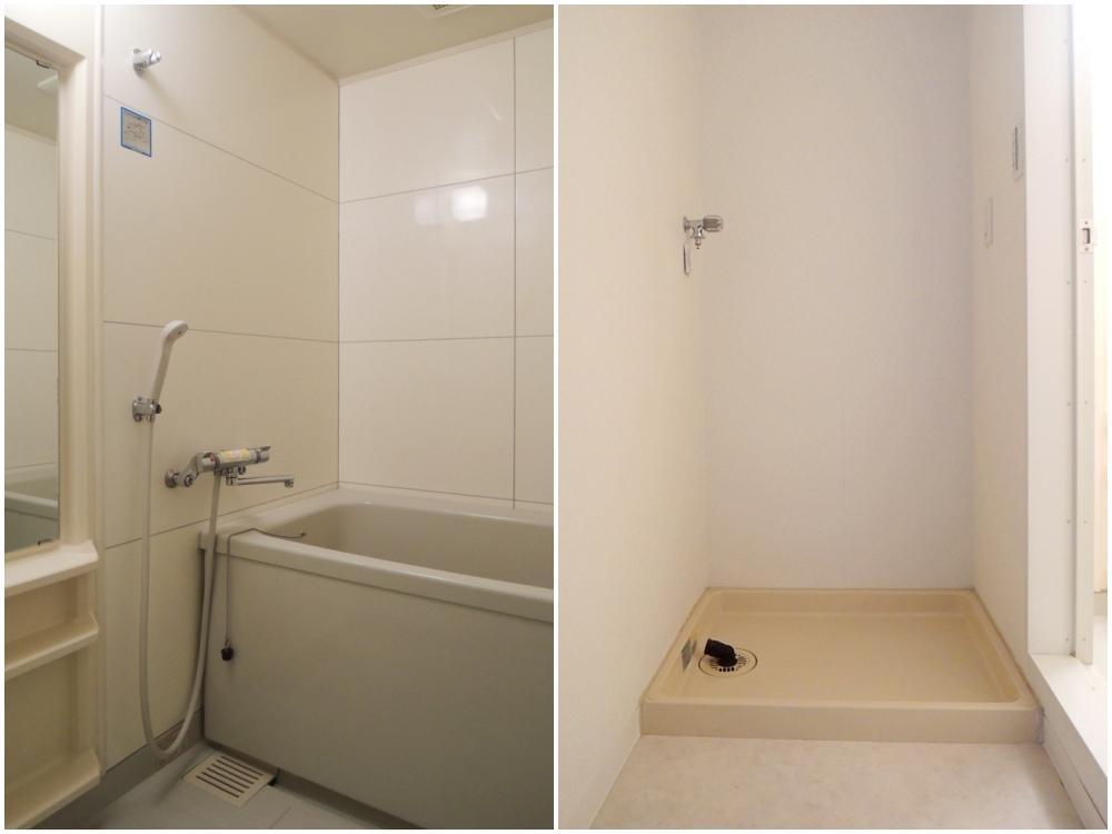 浴室 洗濯機置き場