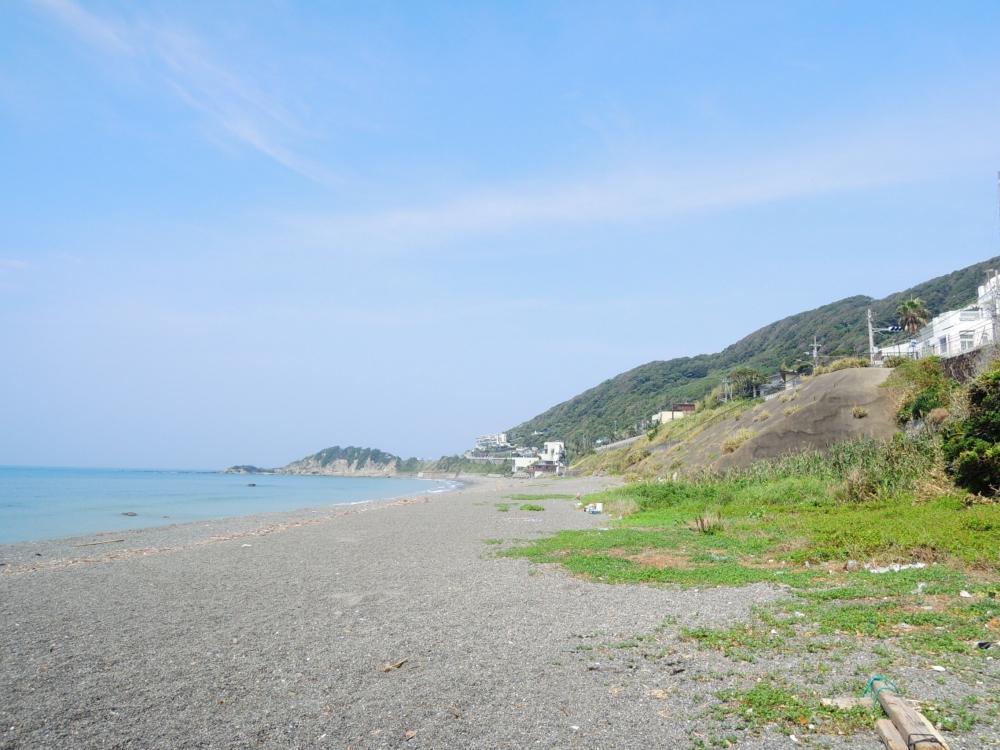 海岸に出れば海と緑の近さがより分かる