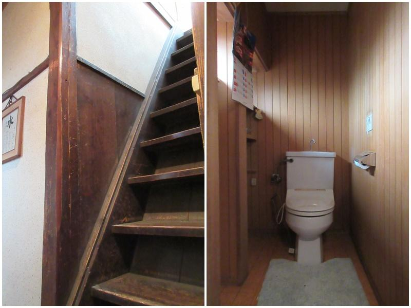 急な階段|トイレ
