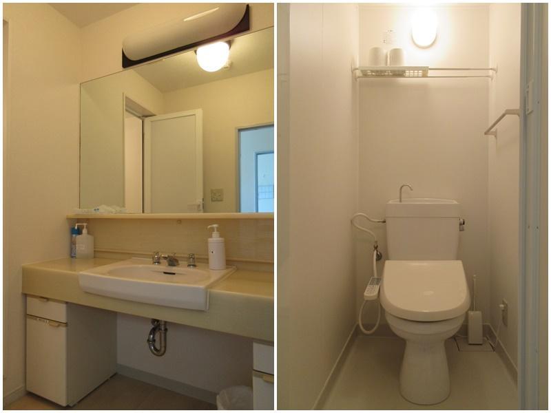 洗面 トイレ(原状回復でユニットバスに戻ります)