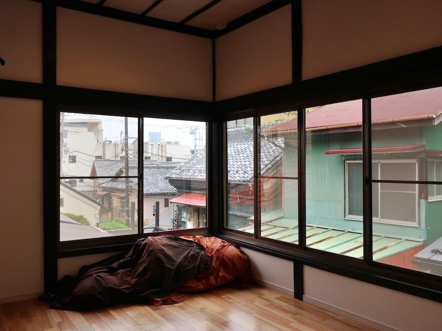 洋室6帖 ここからのアジアな眺めが好き