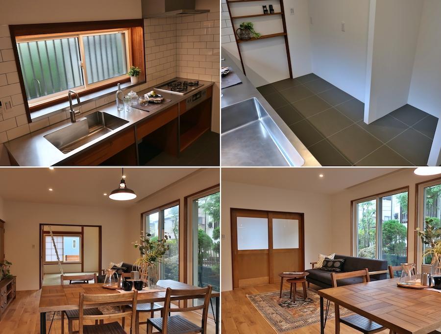 キッチンの使い勝手が良さそう/リビング・ダイニングも建具が空間をうまく締めている印象でよい