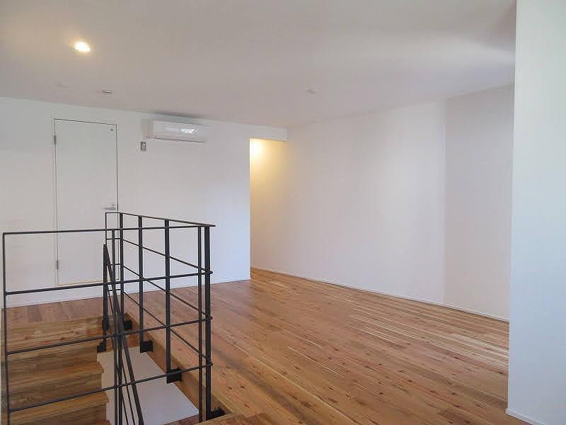 2階部分。ワンルームを上手く使いこなしたい