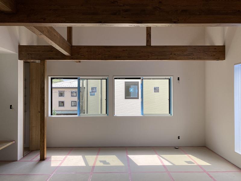 2階リビングは、より明るく、より風が通りやすい。
