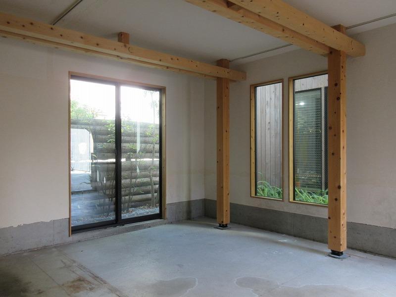 102号室 構造を見せることによって、施設全体の統一感を保つデザインとなっています