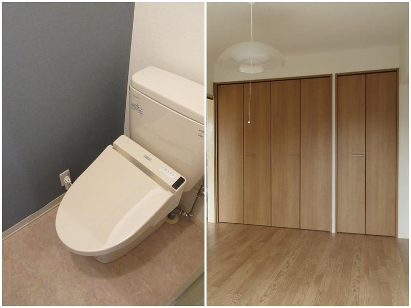 トイレ|収納は洋室にばっちり