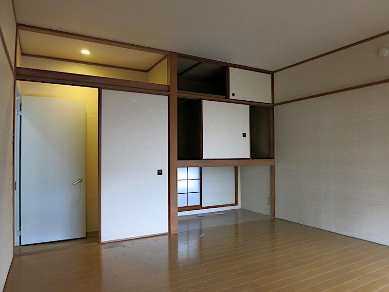 1F洋室|和風を上品にくずした雰囲気にジャパンモダニズムを感じる