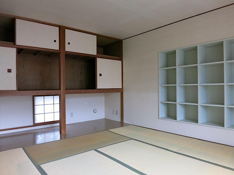 2F和室|北側にはまた和を感じさせる収納スペース