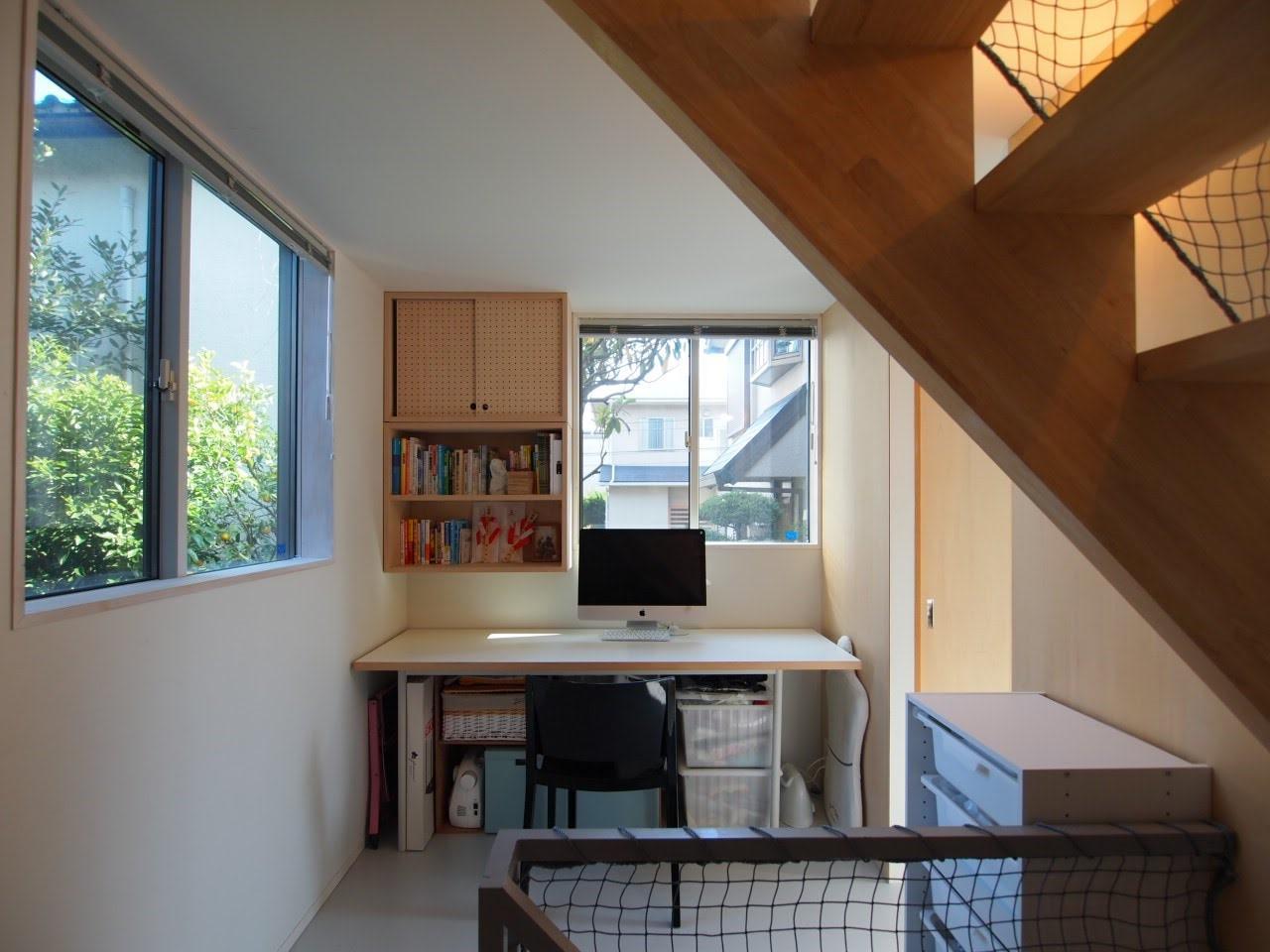 1階奥に書斎スペース