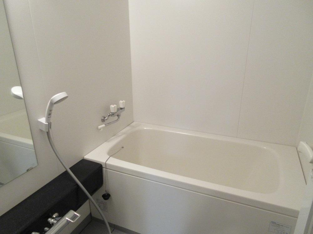 浴室。清潔感があります