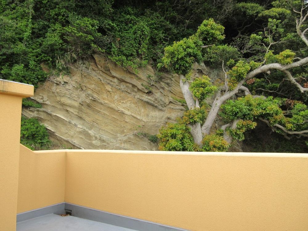 崖も見えます