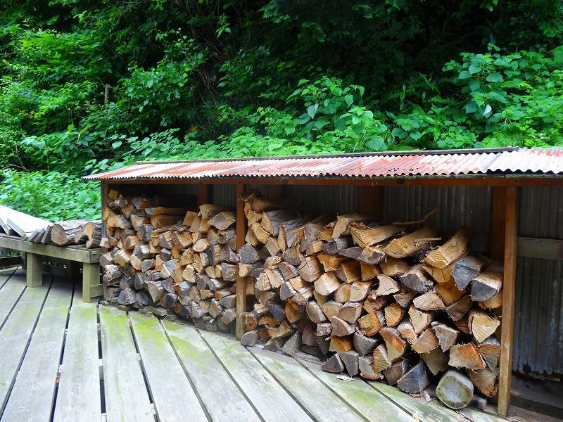 薪の調達も大事な仕事