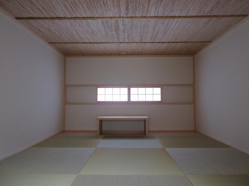 茶室のような畳のロフト