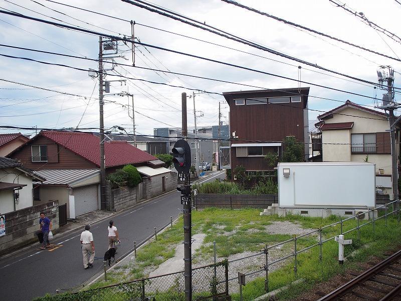 2階の窓からの景色