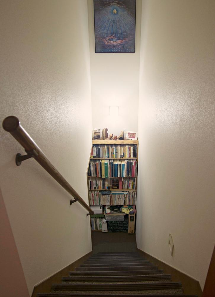 地下室への入り口。