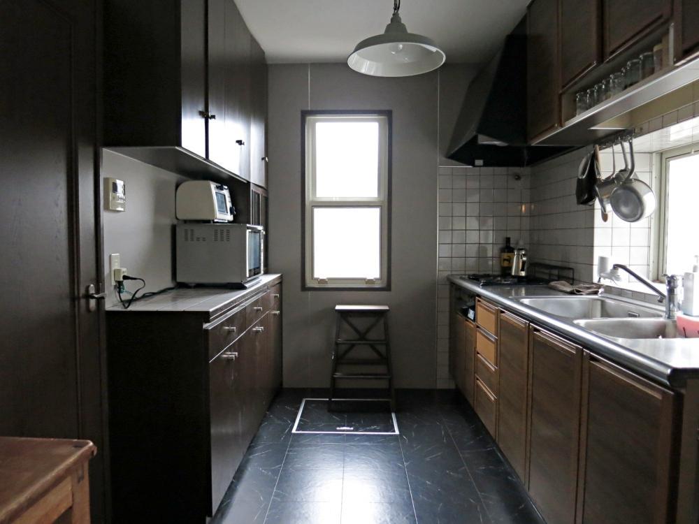 キッチンはいい感じに個室化。仕込みがはかどりそうです。