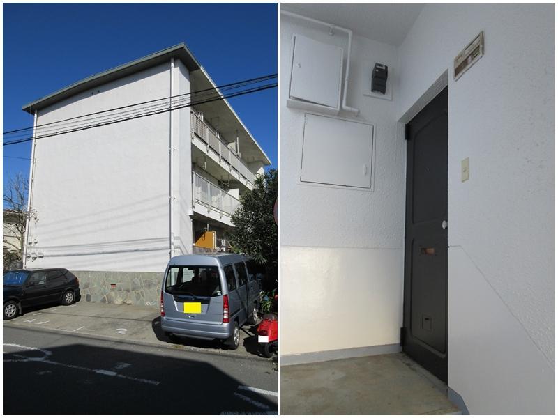 建物は味わいあるマンション|1階の部屋