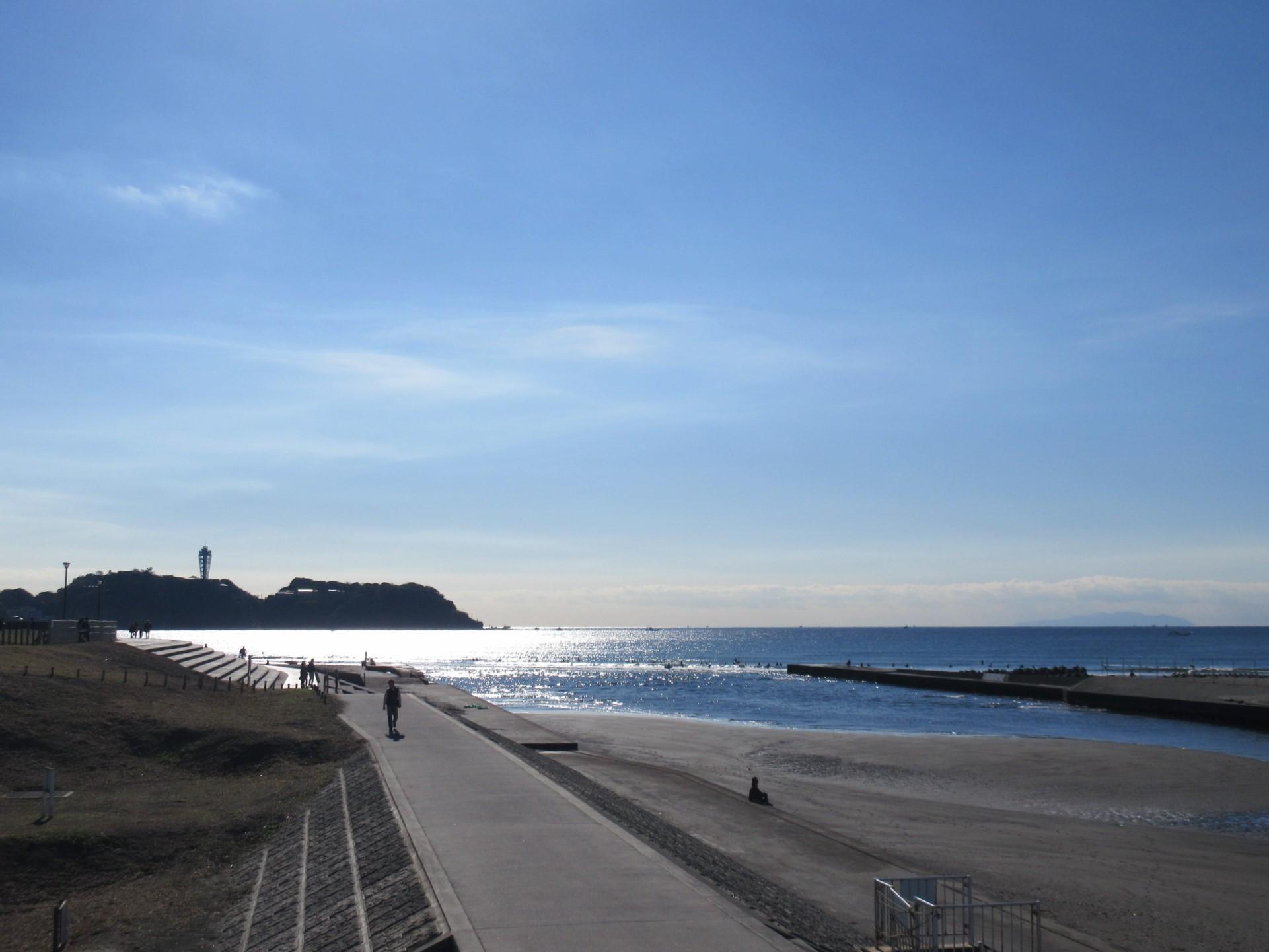 (周辺)鵠沼海岸まで徒歩2分ほど