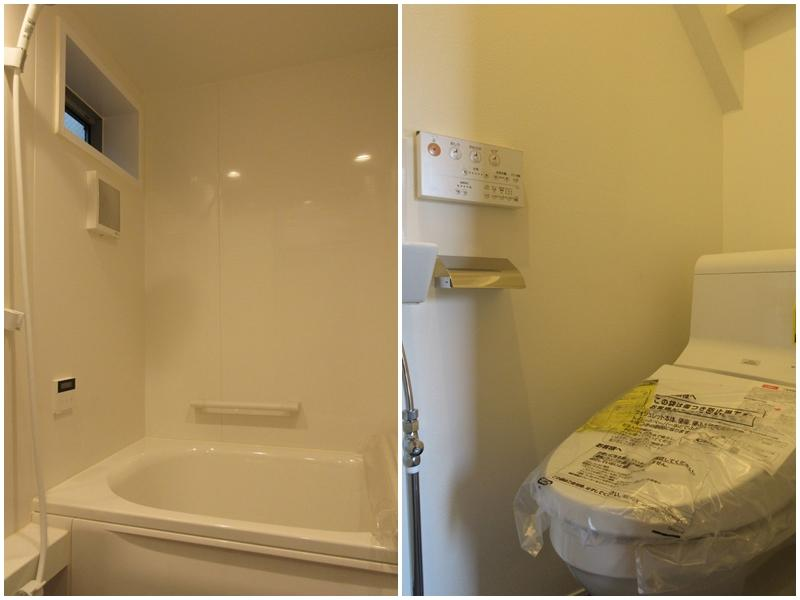 A1|浴室(浴室と洗面が別々なのはこの区画のみ)|トイレ
