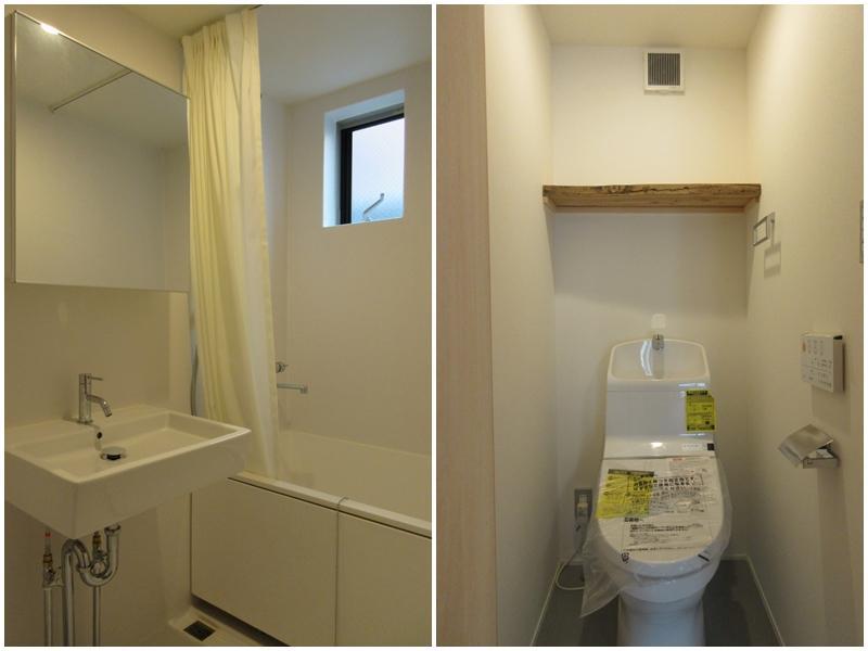 A2|浴室と洗面が同室|トイレ