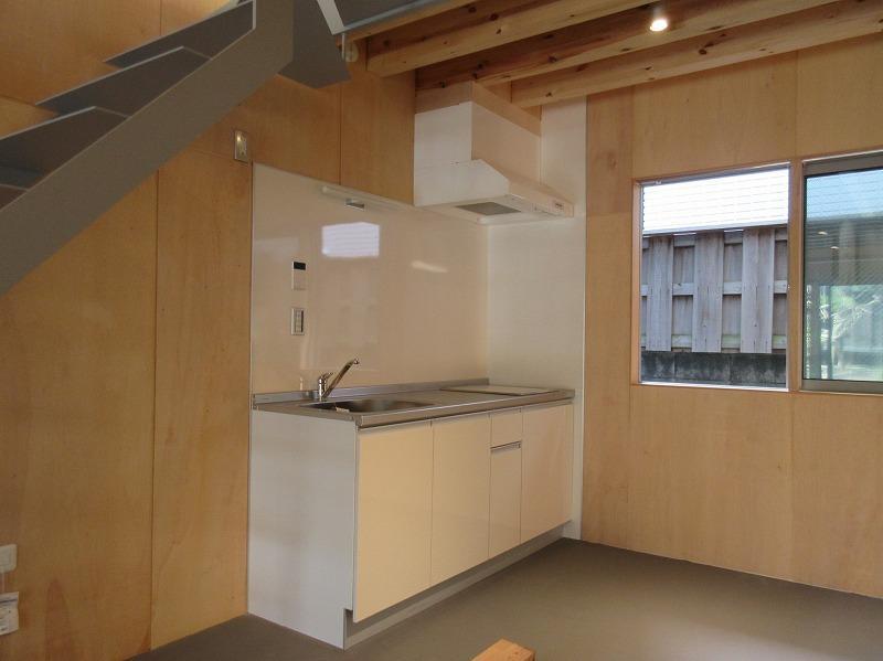 A3|1階の奥にキッチン