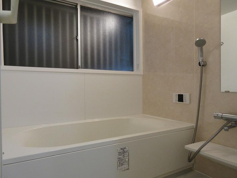 浴室もきれいになっています