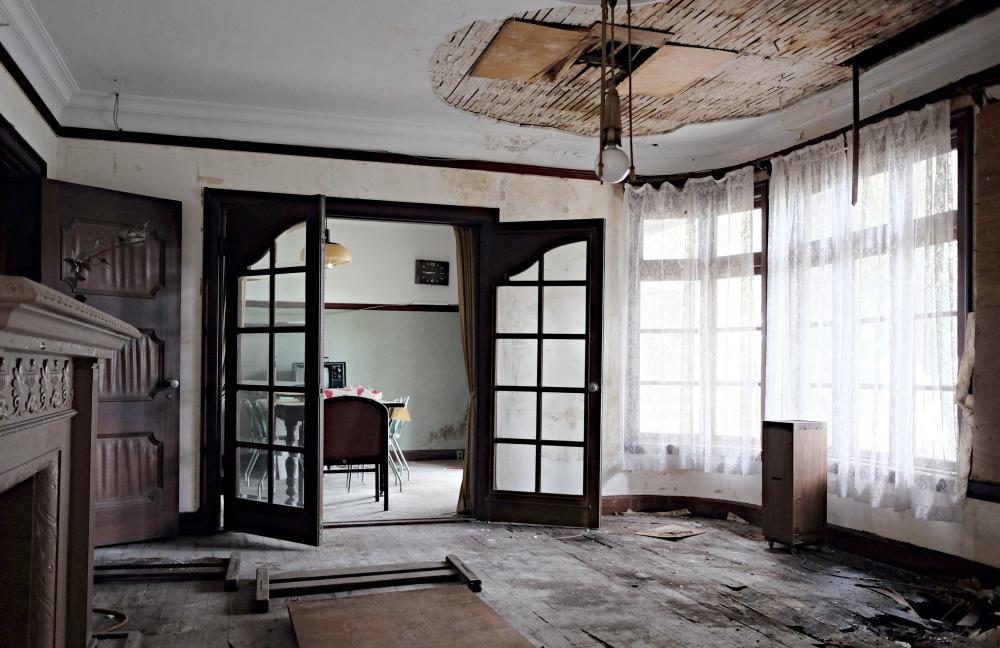 1階|応接室と食堂