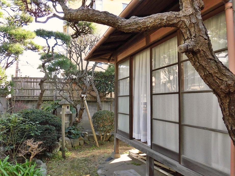 庭と建物の関係|とてもスキッとしている印象の縁側