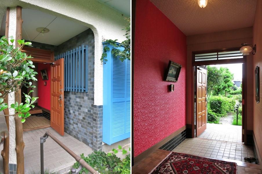 玄関|外部と内部のギャップに驚き