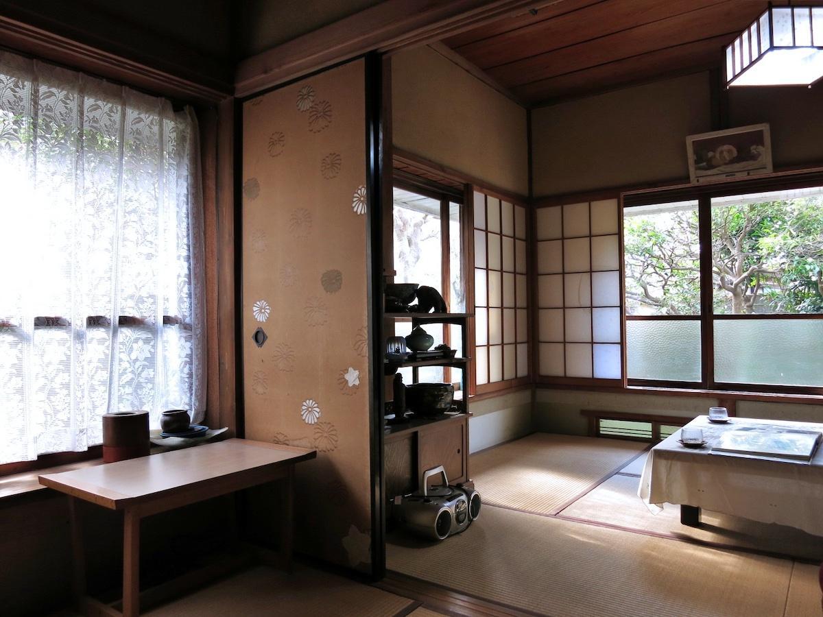 和室2部屋をつなげると10.5畳の空間