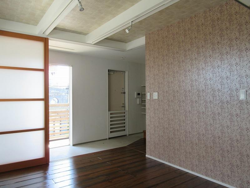 C区画|2階部分。玄関は広い土間敷き
