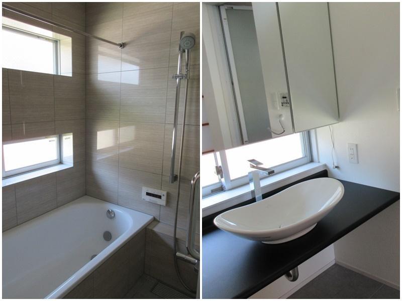 B区画|浴室。こちらは窓付・洗面