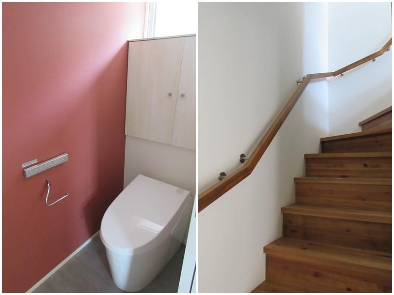 B区画|トイレ・階段