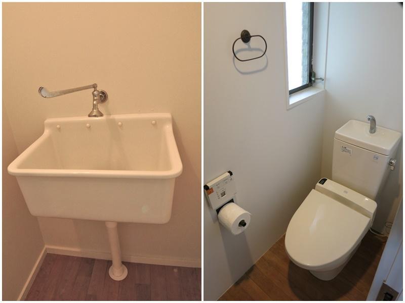 2階|手洗器・トイレ
