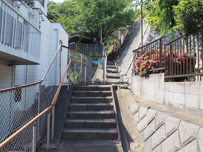 階段接道スタイル