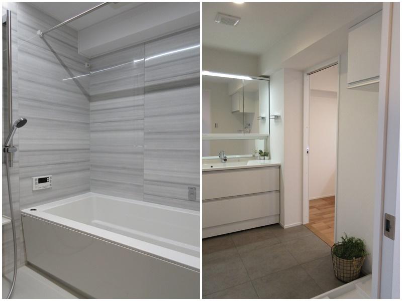 浴室|洗面脱衣所は広め