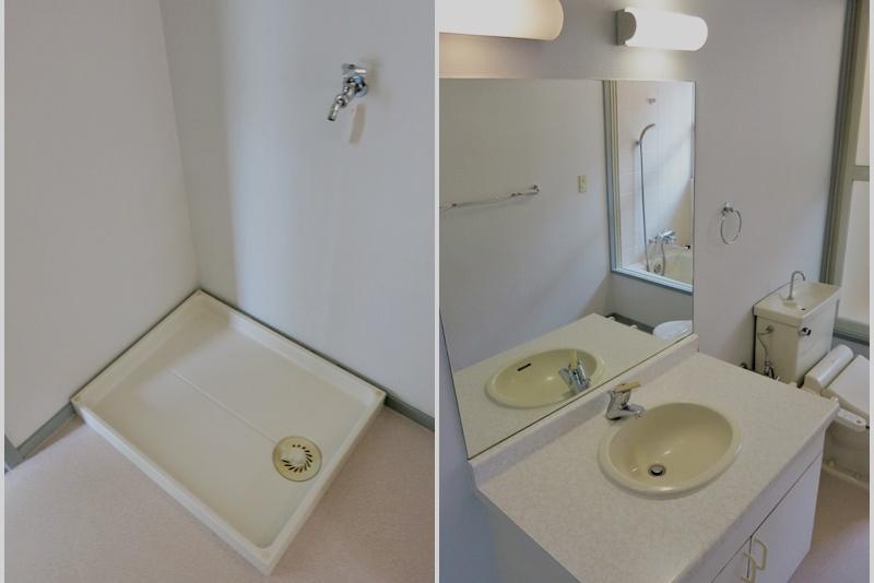 洗濯機置き場 洗面所