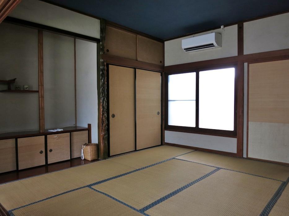 2階の和室|ここの床の間が妙!