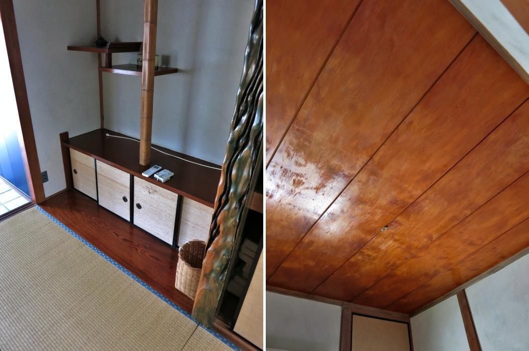 床の間や和室の天井