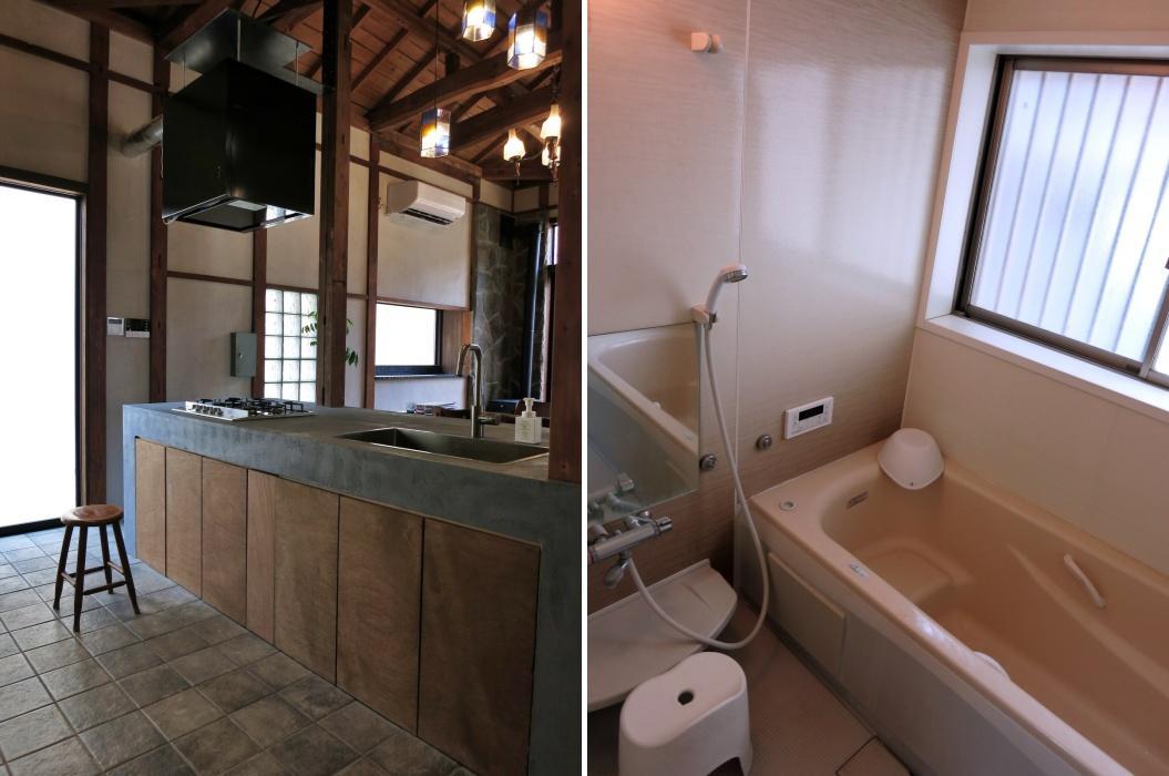 台所は更新|浴室は今回ではなく数年前の改装です