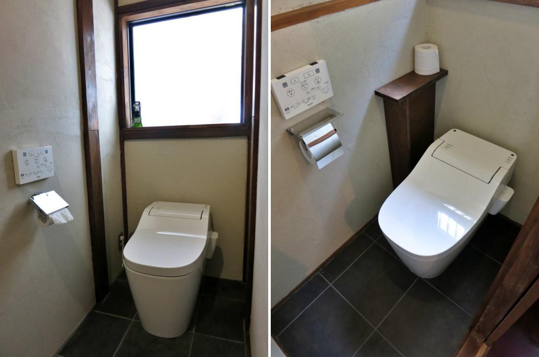 トイレは各階それぞれ更新