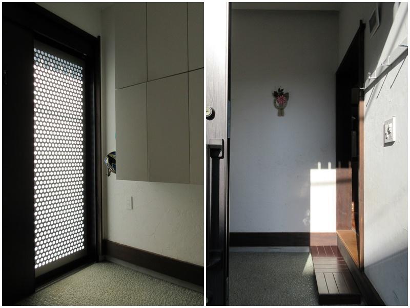 玄関は引戸|スペースを広く確保した玄関