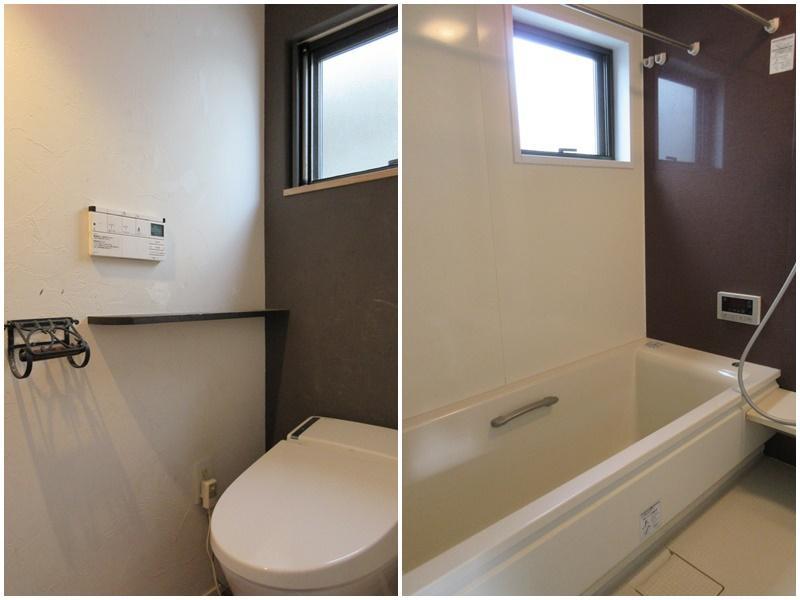 トイレ|窓のある浴室