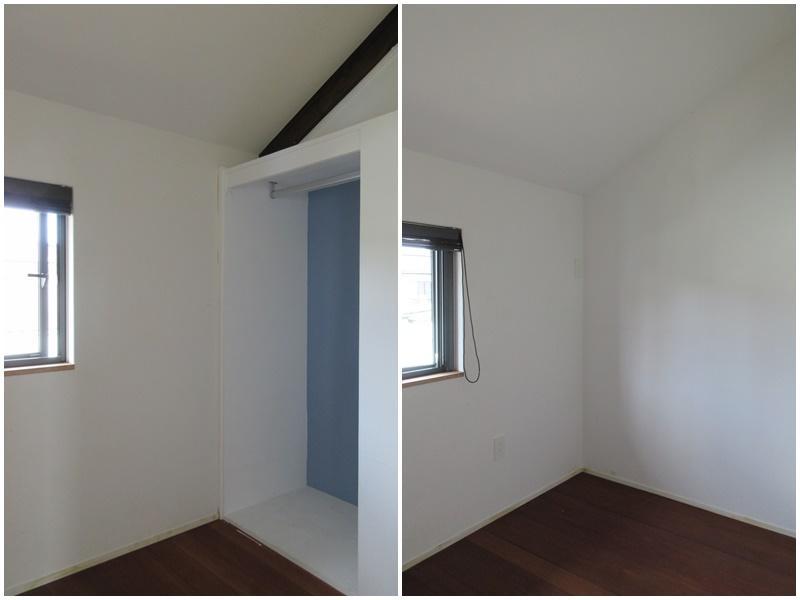 2階の納戸は小部屋として活用されている