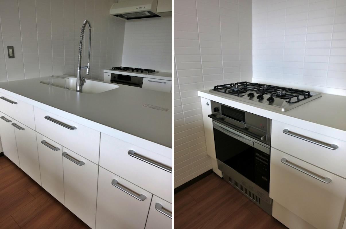 キッチン|設備は新設されている(食洗機もあります)