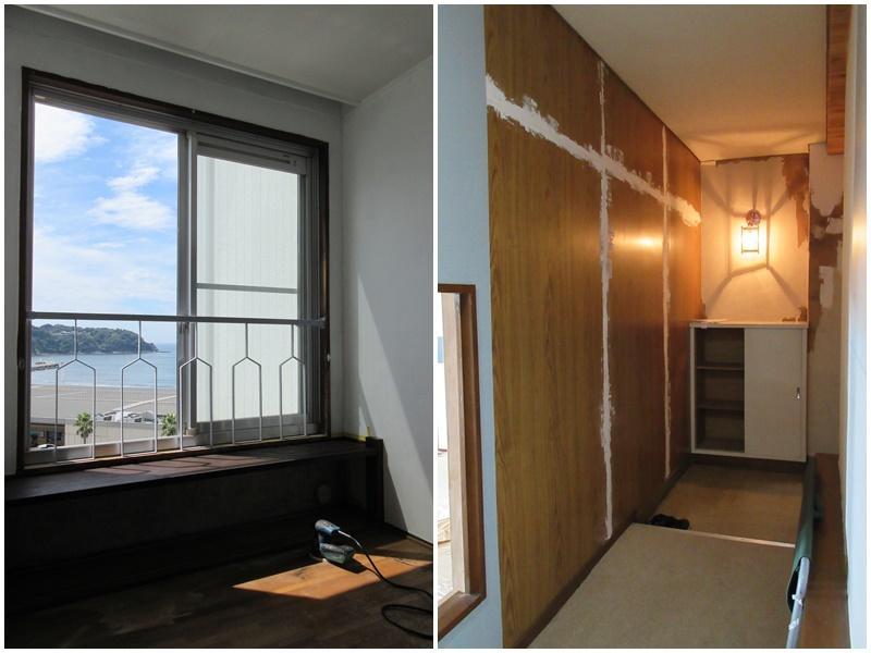 この窓は個人的にツボ|玄関から廊下
