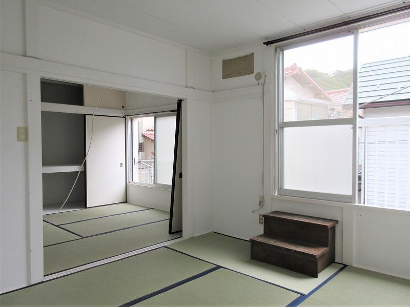 2階和室。ほどよいサイズ感
